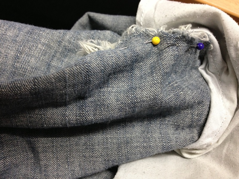 DIY – Hand Sewing – Repairing Clothes – Fixing Loose Threads