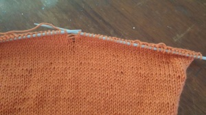 Bergere-De-France-Ideal-Yarn-Vitamine-Sweater-Jumper-Sleeve-Knitting-3-half-mm-needle-Stocking-Stitch-Dropped-Mistake