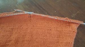 Bergere-De-France-Ideal-Yarn-Vitamine-Sweater-Jumper-Sleeve-Knitting-3-half-mm-needle-Stocking-Stitch-Dropped-Mistake