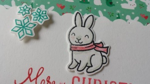 Lawn-Fawn-Cute-Christmas-Card-Idea-Merry-Snowflake-Bunny-Rabbit-Snow-Critters-Stamp-Die-Cut-Kawaii-Bow