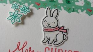 Lawn-Fawn-Cute-Christmas-Card-Idea-Merry-Snowflake-Bunny-Rabbit-Snow-Critters-Stamp-Die-Cut-Kawaii-Bow